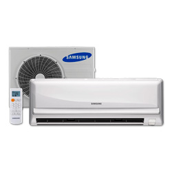 Ar Condicionado Split 9000 BTU/s Quente/Frio 220V Samsung Max Plus AQ09UWBU-XAZ