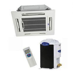 Ar Condicionado Split Cassete 18000 BTU/s Quente/Frio 220V Bifásico Carrier 40KWQB18C5