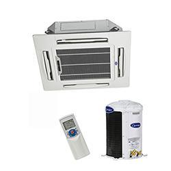 Ar Condicionado Split Cassete 18000 BTU/s Frio 220V Bifásico Carrier 40KWCC18C5