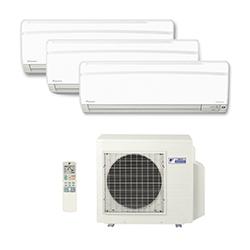Ar Condicionado Multi Split Inverter Daikin Advance 2X9000(HW) + 1X12000(HW) BTU/s Quente/Frio 220V 1F