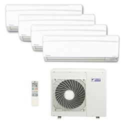 Ar Condicionado Multi Split Inverter Daikin Advance 4X9000(HW) Btu/s Quente/Frio 220V 1F