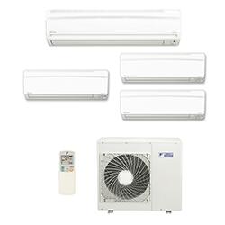 Ar Condicionado Multi Split Inverter Daikin Advance 3X12000(HW) + 1X18000(HW) Btu/s Quente/Frio 220v 1F