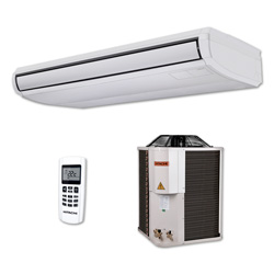 Ar Condicionado Split Piso Teto On/Off Hitachi Utopia 58000 Btus Quente/Frio 380V 3F RAP60B7Q