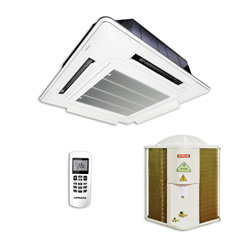 Ar Condicionado Split Cassete On/Off Hitachi Utopia 45000 Btus Quente/Frio 220v 3F RAP48B5Q
