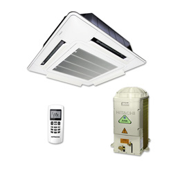 Ar Condicionado Split Cassete On/Off Hitachi Utopia 24000 Btus Quente/Frio 220v 1F RAP24B3Q