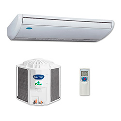 Ar Condicionado Split Piso Teto On Off Carrier Space Eco Saver 48000 BTU/s Frio 380V 3F 38CCK048235MC