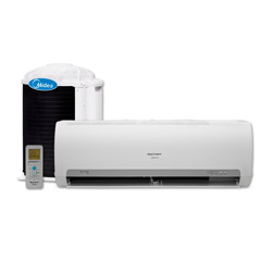 Ar Condicionado Split Hi Wall On Off Springer Midea 9000 Btus Frio 220v 1F 42MACA09S5