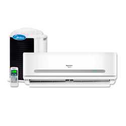 Ar Condicionado Split Hi Wall On Off Springer Midea 30000 Btus Quente/Frio 220v 1F 42MAQA30S5