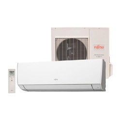 Ar Condicionado Split High Wall Inverter Fujitsu 9000 Btus Frio 220v 1F ASBG09JMCA F