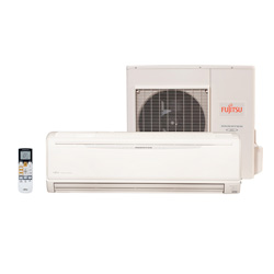 Ar Condicionado Split High Wall Inverter Fujitsu 18000 Btus Quente/Frio 220v 1F ASBA18LEC