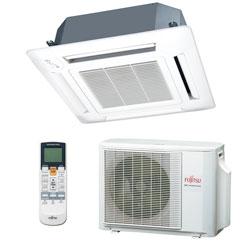 Ar Condicionado Split Cassete Inverter Fujitsu 17000 Btus Quente/Frio 220v 1F AUBF18LAL