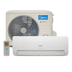 Ar Condicionado Split Hw Inverter Springer Midea 9000 Btus Quente/Frio 220v 1F 42MBQA09M5