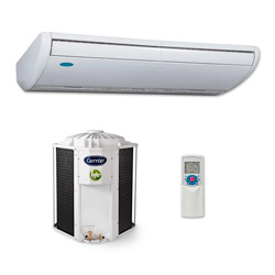 Ar Condicionado Split Piso Teto On/Off Carrier Space 48.000 Btus Frio 380v 3F 42XQL48C5