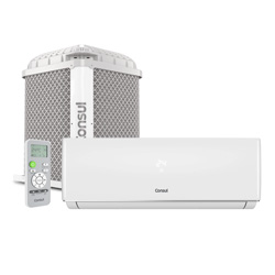 Ar Condicionado Split On/Off 9000 Btus Quente/Frio 220v Consul CBP09BBBNA