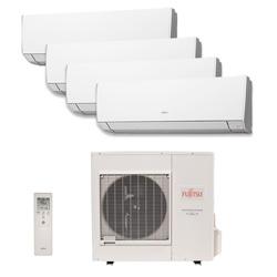 Ar Condicionado Multi Quadri Split Fujitsu Inverter 3X9000 + 1X12000 Btus Hw 220v Quente/Frio 1F AOBG30LAT4