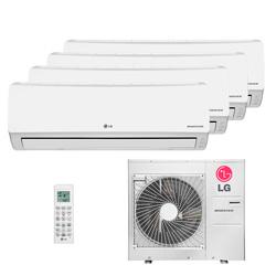 Ar Condicionado Multi Quadri Split Lg Inverter 3X9000+1X18000 Btus Hw 220V Quente/Frio 1F A5UW30GFA2