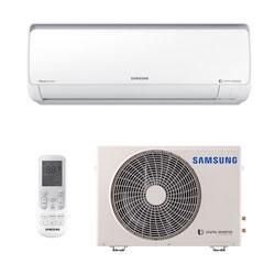 Ar Condicionado Split Hw Digital Inverter Samsung 9000 Btus Quente/Frio 220V Monofásico AR09MSSPBGMNAZ