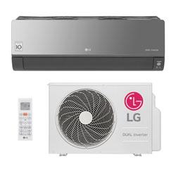 Ar Condicionado Split Hw Dual Inverter Voice Art Cool Lg 12000 Btus Quente/Frio 220V S4NW12JARPA.EB2GAMZ