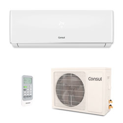 Ar Condicionado Split Hw On/Off Consul 12000 Btus Quente/frio 220v Monofasico CBP12CBBNA