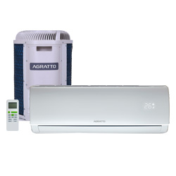 Ar Condicionado Split Hw On/off Eco Top Agratto 9000 Btus Quente/frio 220V Monofasico ECST9QFR4-02