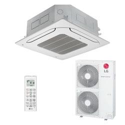 Ar Condicionado Split Cassete Inverter Lg 47000 Btus Quente/frio 220V Monofasico ATNW48GMLP0.ANWZBRZZ
