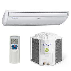 Ar Condicionado Piso Teto On/off Silvermaxi Springer 36000 Btus Frio 220V Monofasico 42XQU36S5