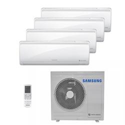 Ar Condicionado Multi Quadri Split Hw Inverter Samsung 3x9000+1x18000 Btus Quente/frio 220V Monofasico AJ034NCJ5CH/AZ