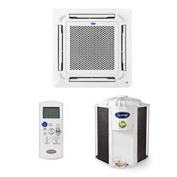 Ar Condicionado Split Cassete On/off Carrier 23000 Btus Quente/frio 220V Monofasico 40KWQU24C5
