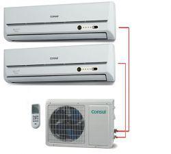 Ar Condicionado Bi Split 2x9000 BTU/s Quente/Frio 220V Consul Bem Estar CBC09BBBNA