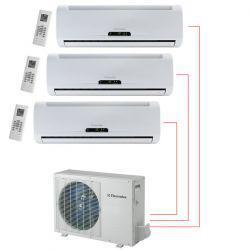 Ar Condicionado Tri Split 3x9000 BTU/s Frio 220V Electrolux DI09F/DE27F