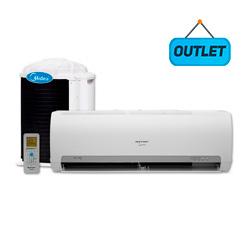 Ar Condicionado Split Hw On/Off Springer Midea 9000 Btus Quente/Frio 220V 1F 42MAQA09S5 - OUTLET