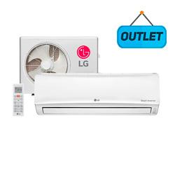 Ar Condicionado Split Libero E+ Smart Inverter Lg 18000 Btus Quente/Frio 220V USNW182CSG3 - OUTLET
