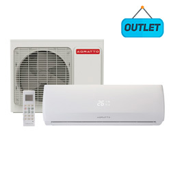 Ar Condicionado Split Hw On/Off Agratto Fit 18000 Btus Quente/Frio 220V Monofásico CCS18QF R4 - OUTLET